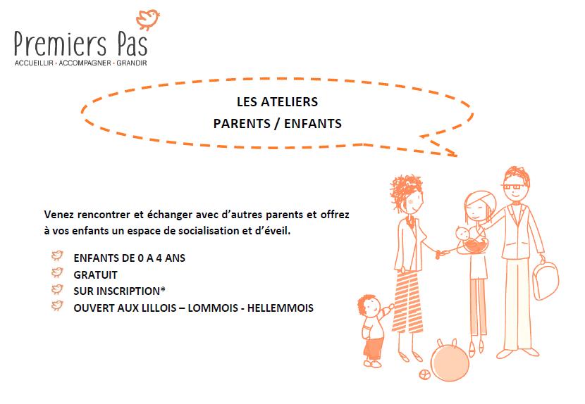 Ateliers Parent/Enfant au Centre de la Petite Enfance