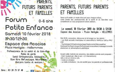 FORUM Petite Enfance – Hellemmes 2018