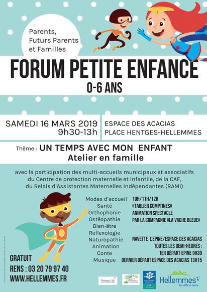 FORUM Petite Enfance – Hellemmes 2019