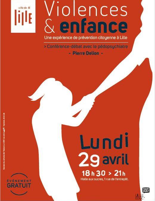 Conférence Débat – Violences & Enfance – Pierre Delion – 29 avril 2019