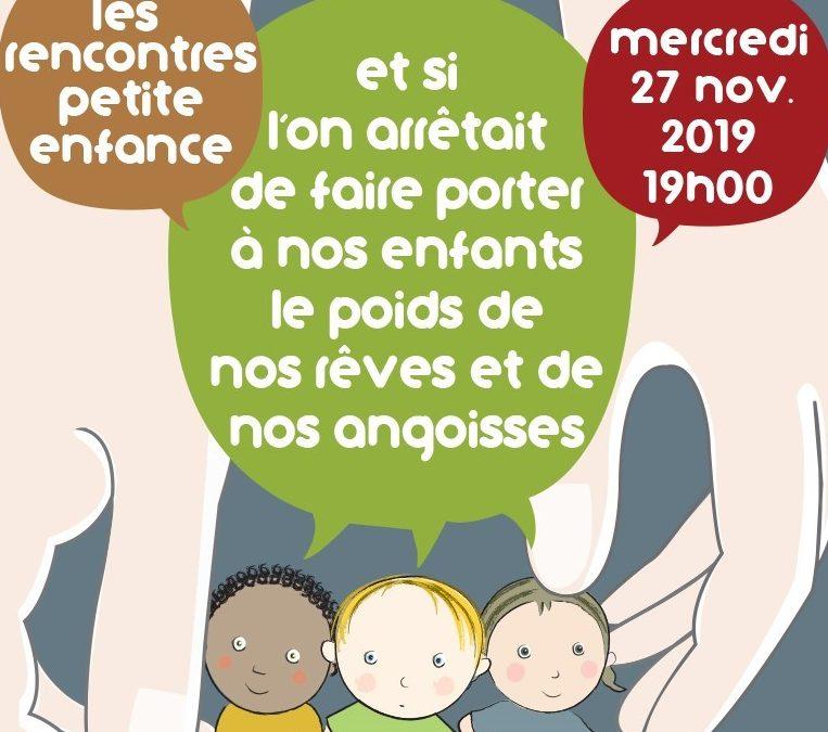 Lambersart : du 25 au 30 novembre 2019 Journées Petite Enfance
