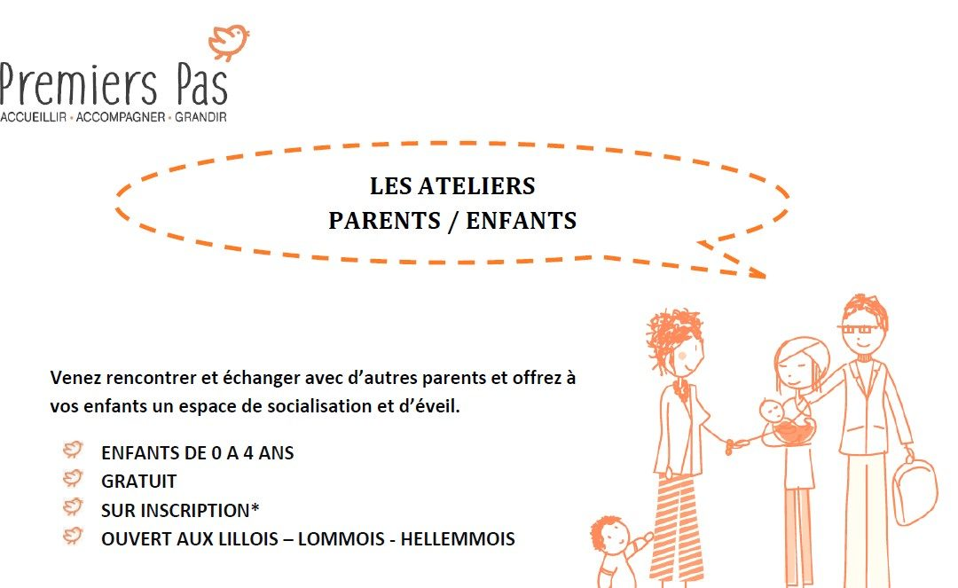 Ateliers parents/enfants – avril à juillet 2020